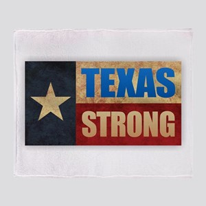 Texas Strong Throw Blanket