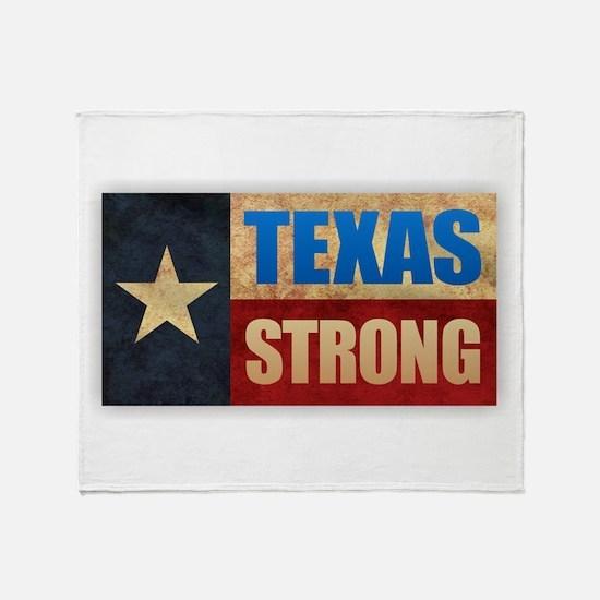 Texas Strong Throw Blanket