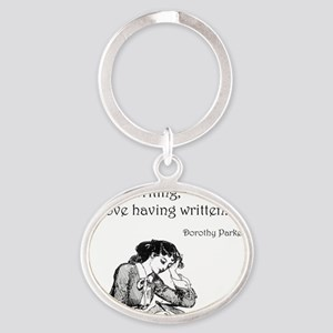 Love/Hate Relationship Oval Keychain