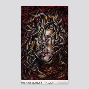 Medusa No. Three 3'x5' Area Rug