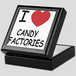 I heart Candy Factories Keepsake Box