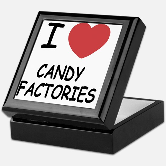 I heart Candy Factories Keepsake Box