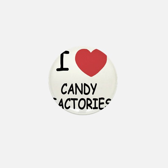 I heart Candy Factories Mini Button