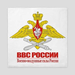Russian Air Force Emblem Queen Duvet