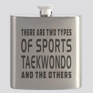 Taekwondo Designs Flask