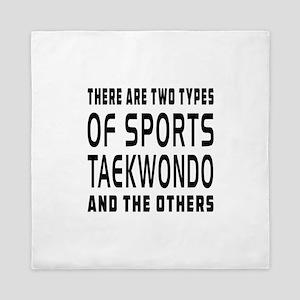 Taekwondo Designs Queen Duvet