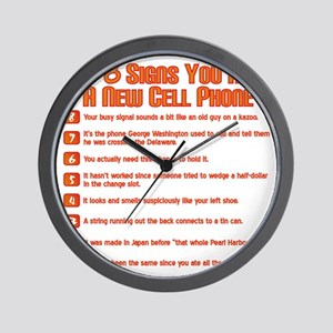 Top 8 Signs You Need A New Cell Phone Wall Clock