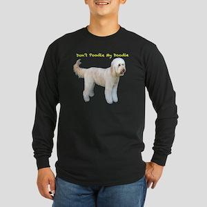 Desta on blue Long Sleeve Dark T-Shirt