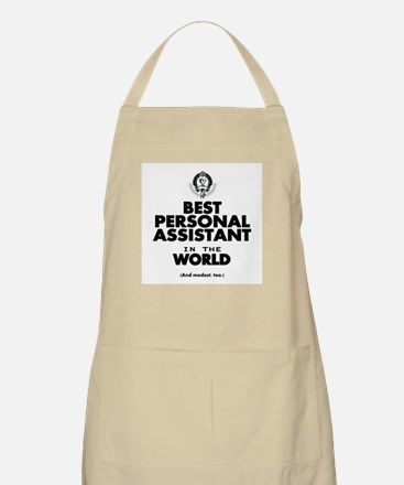 The Best in the World – Personal Assistant Apron