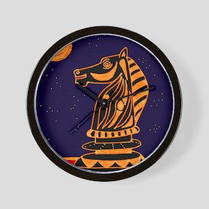 Tiger Knight Wall Clock