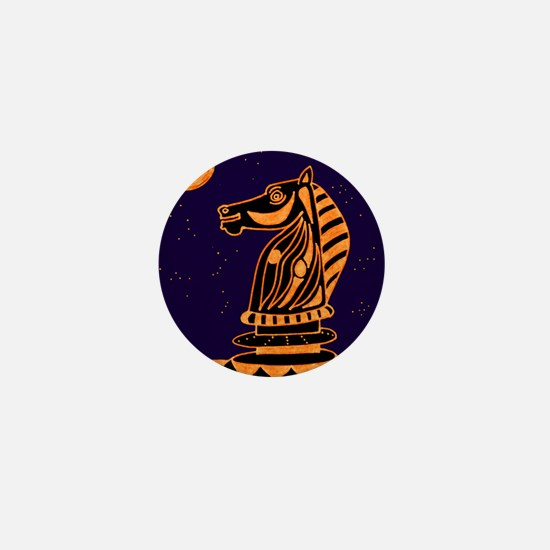 Tiger Knight Mini Button