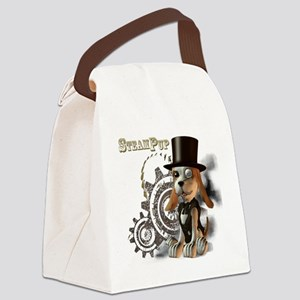 SteamPup Canvas Lunch Bag