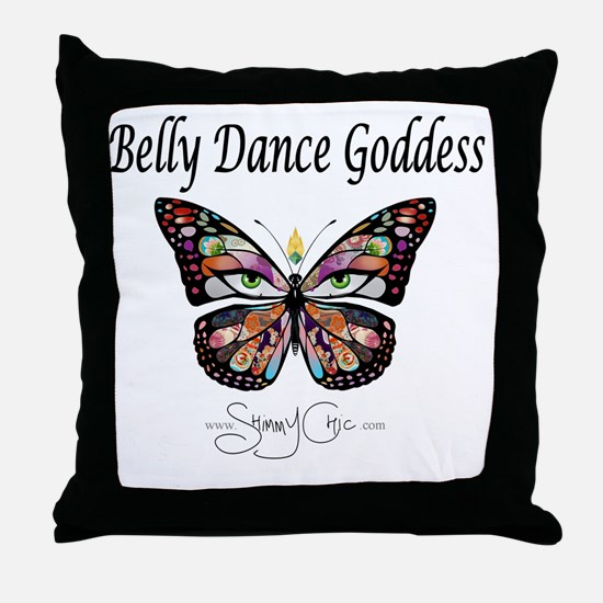 Shimmy Chic Throw Pillow