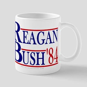 Reagan Bush 1984 Large Mugs
