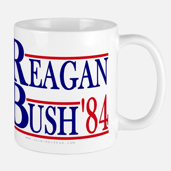 Reagan Bush 1984 Large Mugs