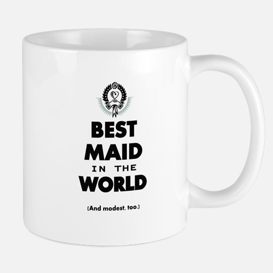 The Best in the World – Maid Mugs