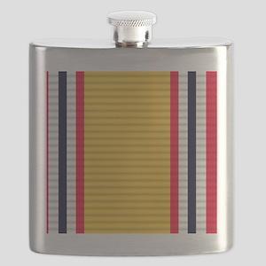 National Defense Service Medal Flask