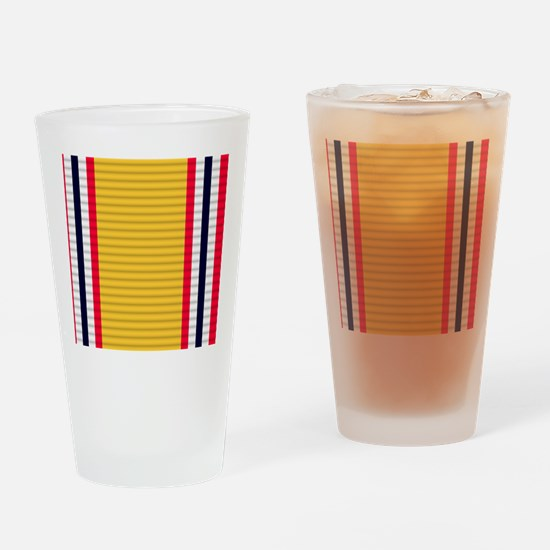 National Defense Service Medal Drinking Glass