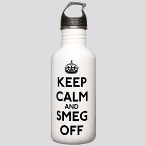 FIN-keep-calm-smeg-off Stainless Water Bottle 1.0L