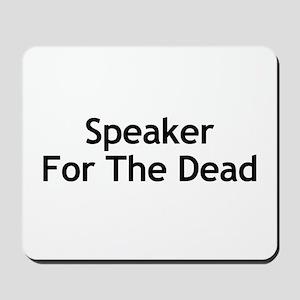 Speaker For The Dead Mousepad