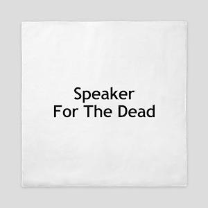 Speaker For The Dead Queen Duvet