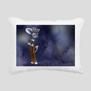 nsl_laptop_skin Rectangular Canvas Pillow