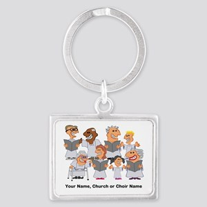 Funny Personalized Church Choir Keychains
