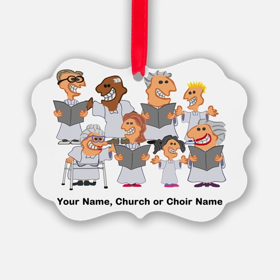 Funny Personalized Church Choir Ornament