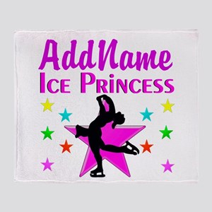 SKATER PRINCESS Throw Blanket