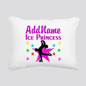 SKATER PRINCESS Rectangular Canvas Pillow