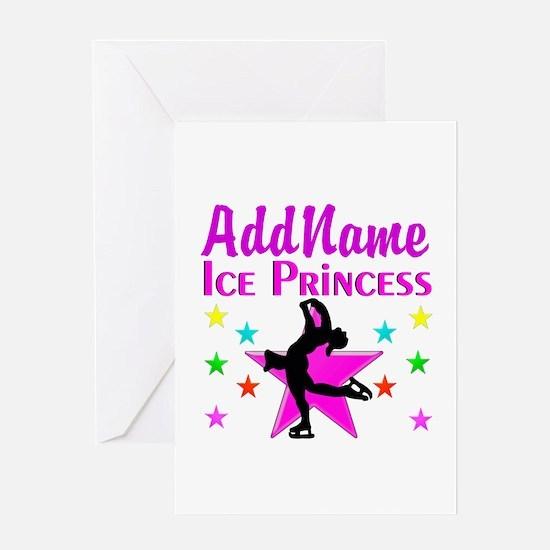 SKATER PRINCESS Greeting Card