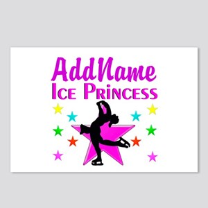 SKATER PRINCESS Postcards (Package of 8)