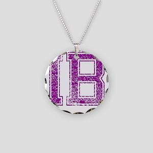IB, Vintage Necklace Circle Charm