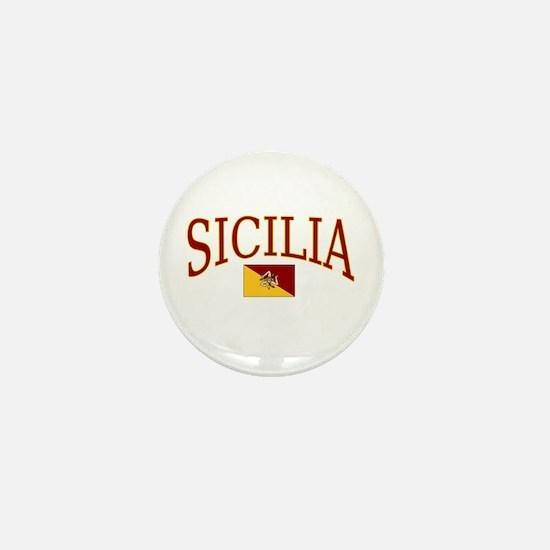 Sicilia Mini Button