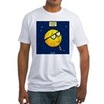 Super Moon Fitted T-Shirt