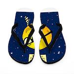 Super Moon Flip Flops