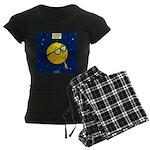 Super Moon Women's Dark Pajamas