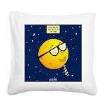Super Moon Square Canvas Pillow