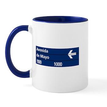Avenida de Mayo, Buenos Aires (AR) Mug