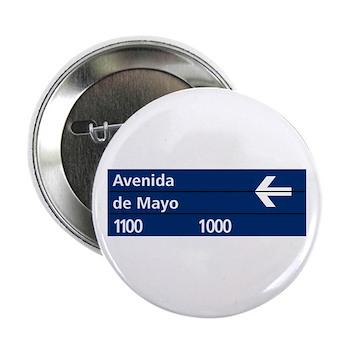 Avenida de Mayo, Buenos Aires (AR) Button