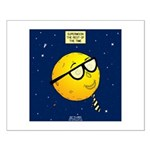 Super Moon Small Poster