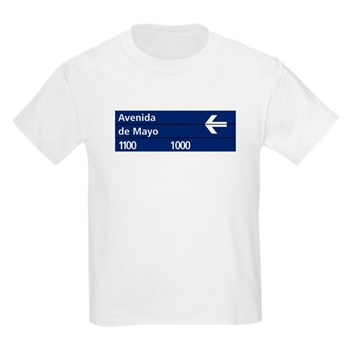 Avenida de Mayo, Buenos Aires (AR) Kids T-Shirt