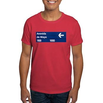 Avenida de Mayo, Buenos Aires (AR) Dark T-Shirt