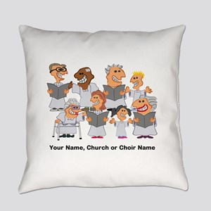 Funny Personalized Church Choir Everyday Pillow