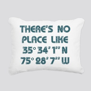 Theres No Place Like the Rectangular Canvas Pillow