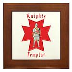 The Knights Templar Framed Tile