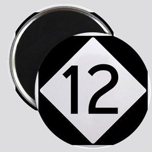 Route 12 Road Sign Magnet