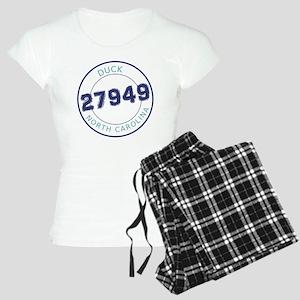 Duck, North Carolina Zip Co Women's Light Pajamas