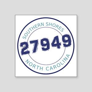 """Southern Shores, North Caro Square Sticker 3"""" x 3"""""""