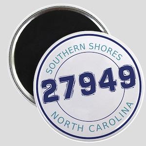 Southern Shores, North Carolina Zip Code Magnet